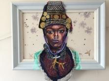 Atui- the queen 58x43cm £505