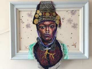 Atui- the queen 58x43cm £505
