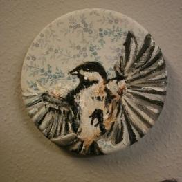 Wings spread 12x12cm