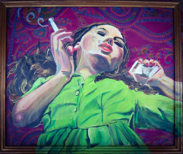 Smokey day dream 47x39cm