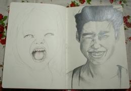 sketch pad 13