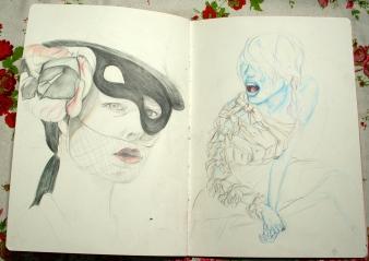 sketch pad 14