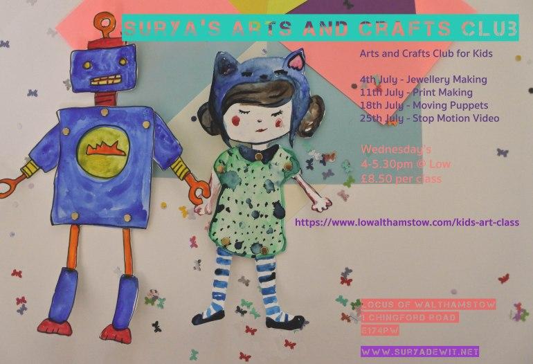 July arts class flyer copy copy